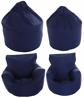 Adult or Children Size Bean Bag / Chair With Beans 6