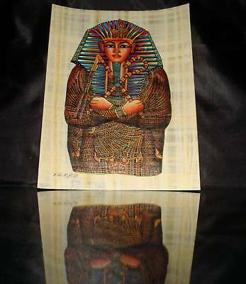 Ancient Egyptian Papyrus Wonderfully Handmade Colorful Piece Superior Quality -K