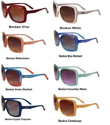 ac78111e34a ... Oakley Beckon Ladies Sunglasses Choice Of Colours Big Bold Protection  New 10
