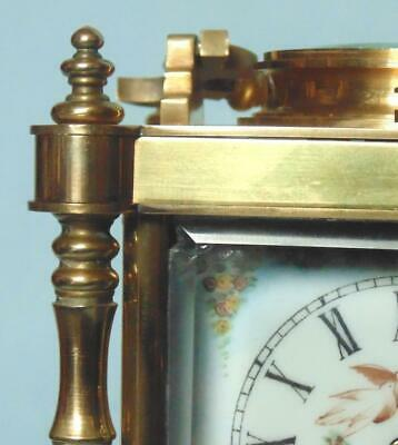 Antique Style French Carriage Clock Repeater Alarm With Erotic Decoration 8