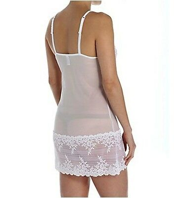 Nwt, Wacoal Embrace Lace Chemise #814191, Large, Sphinx / Pikled Beet, Msrp $62 6