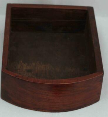 "Rare Miniature Antique English Mahogany 8 Day 7"" Fusee Dial Clock Webb Sandgate 12"