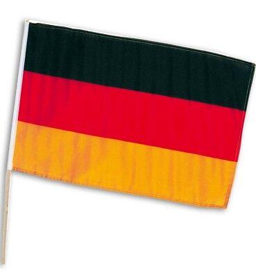 Deutschland Fahne National Flagge Autofahne Fußball BRD Fan WM 4er 12er 24er Set