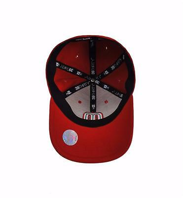 f3cf2df8a ... clearance 2 of 5 new era 39thirty wbc mexico red stretch fitted adult  beisbol baseball cap