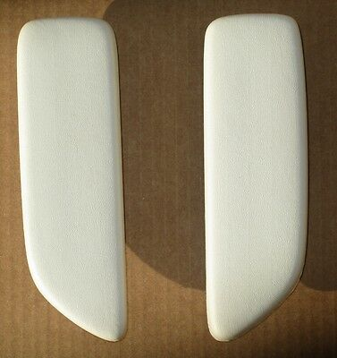 MOPAR Dodge Plymouth 1964 65 B Body Convertible Rear Arm Rest Pads NEW Black 6