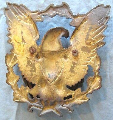 Antique Large Japan Bronze American Eagle Door Knocker 4