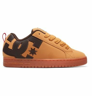 ... Scarpe Uomo Skate DC Shoes Court Graffik SE Wheat Coffee Schuhe  Chaussures 2 122c0c9f9eb