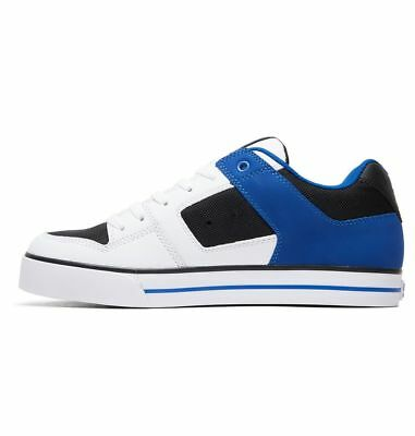 Scarpe Uomo Skate DC Shoes Pure Bianco Nero Rosso White Red Schuhe Chaussures
