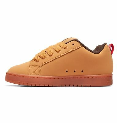 ... 2 sur 5 Scarpe Uomo Skate DC Shoes Court Graffik SE Wheat Coffee Schuhe  Chaussures 3 9a4ced04723