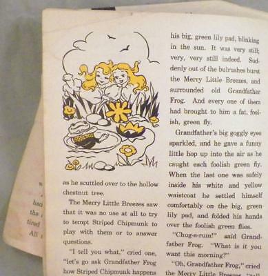 Child's Vintage Book Burgess Bedtime Stories Chick That Would Not Go To Bed AsIs 5