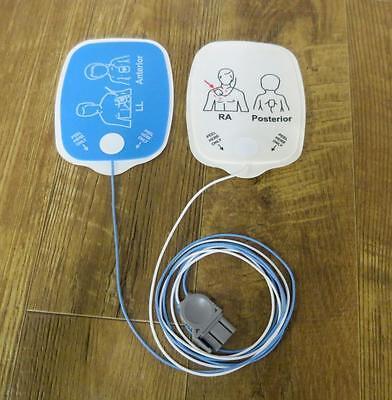 Étui de 10 Physio Contrôle Heartsync Adulte & 10 Pédiatrique Lifepak Électrodes 4