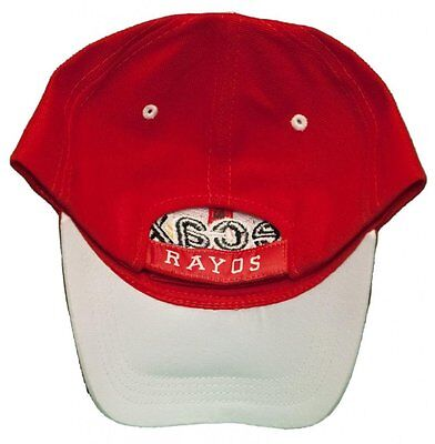 c9f421dc6fc5d Club Necaxa Adjustable Back Hat 3D Embroidered Cap - Rayos - FMF - Red