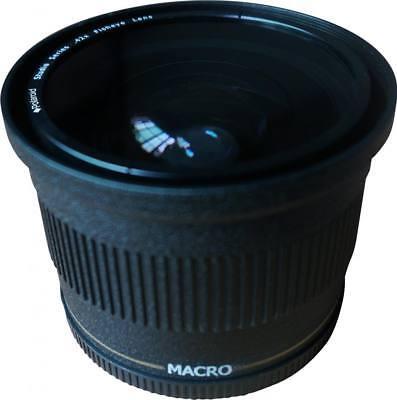Polaroid Studio Series 72mm .42x High Definition Fisheye Lens With Macro Attachm 3