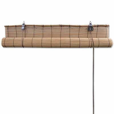 Persiana Enrollable Bambú Marrón 120x160cm Estor de Ventana Venecianas Familia 6