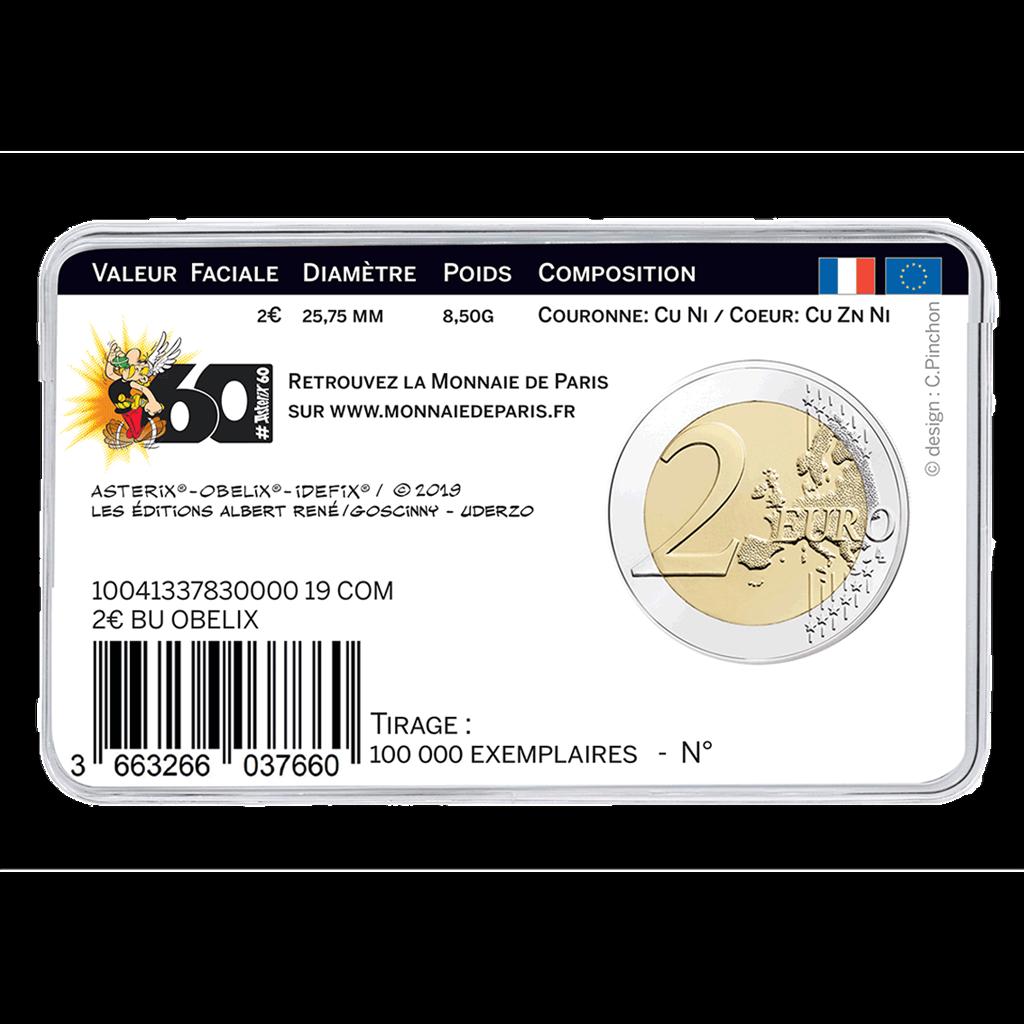 Frankreich - 3 x 2 Euro 2019 Asterix - Obelix Idefix - Satz 3