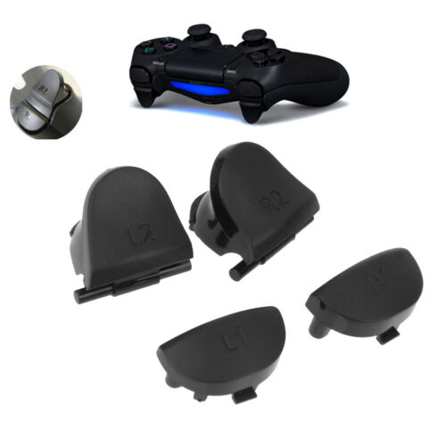 FOR SONY PS4 Controller Parts Replacement Trigger Button Set 4pcs L2 R2 L1  R1