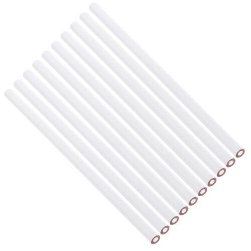 10 Pcs China Marker Wax Pencil Non Toxic Glass Metal Wood Fabric white 4