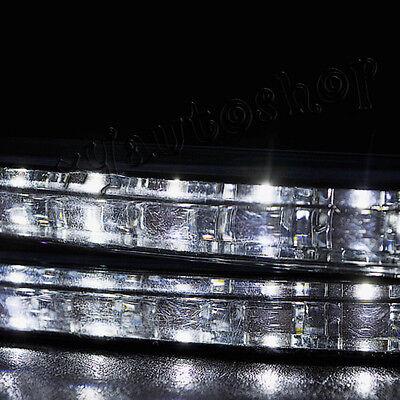 2pcs Super White 8 LED Universal Car DRL Daytime Running Head Light Lamp DC 12V 2