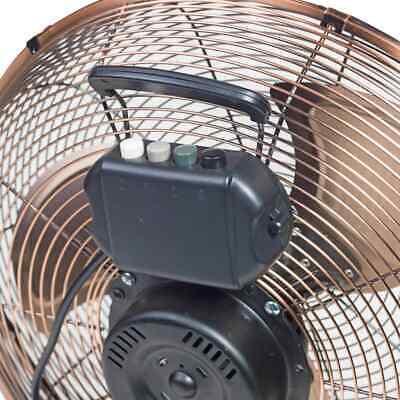 Bestron Ventilateur Turbo 45 cm Cuivre Ventilateur Électrique Refroidissement 7