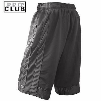 New Men's Proclub Printed Skull Funny Heavy Weight Basketball Mesh Shorts Pants 8