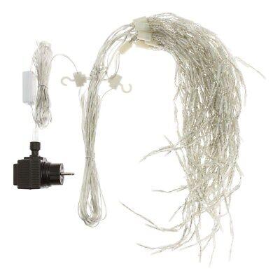 360 miniled Bianco Freddo Catena 25,5 m mit Memory Controller Cavo Trasparente
