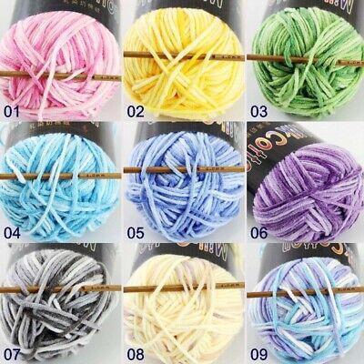 C Fashion 1ballx50g Cotton Baby Hand-dyed Wool Socks Scarf Yarn Knitting Yarn 05