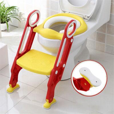 Bébé Formation Siège de Toilette échelle marches pliable Enfant WC Pot éducatif 11