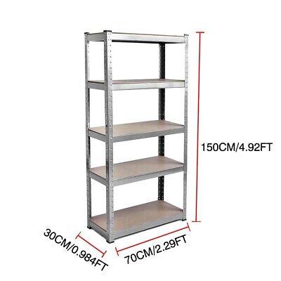 🔥🔥1.5M Racking Shelves Garage Shed Storage Shelving Units Car Industrial 875KG 2