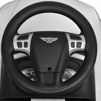 vidaXL Coche Correpasillos para Niños Bentley Blanco Auto Infantil de Juguete 7