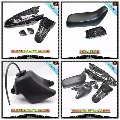 BLACK Plastic Fender Kit Body Cover Fairing Yamaha PW50 PY50 PW 50 Peewee Bike