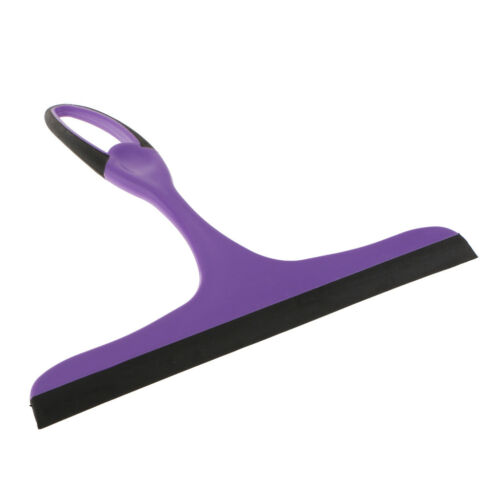 Squeegee Scraper Cleaner For Windows Showers Car Glass and Countertop Purple 8
