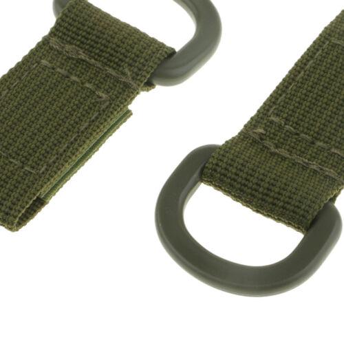 Taktische Nylon Molle Gurtband Gürtelschnalle Adapter für Rucksack Khaki