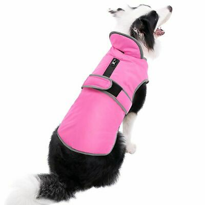 US Waterproof Clothes Winter Warm Pet Dog For Small Medium Large Dog Coat Jacket 3