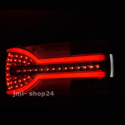 LED Rückleuchte Anhänger LKW 12V 24V dynamischer Blinker 166 LED NEON Rücklicht