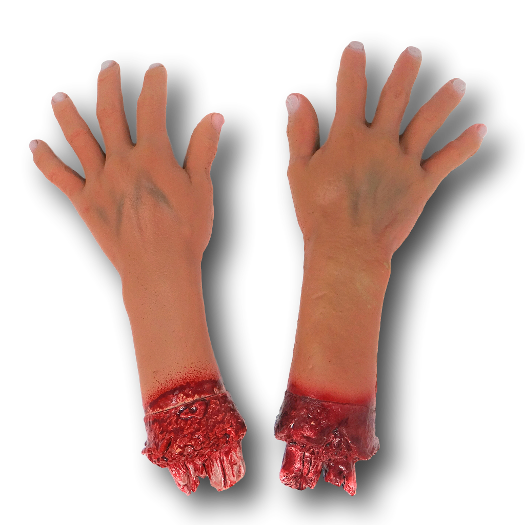 Bloody Severed Fake Latex Arm Arms Leg Legs Foot Feet Hand Hands Halloween Prop Health & Beauty Other Sexual Wellness