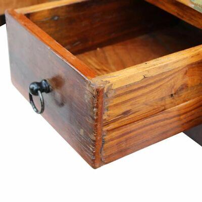 vidaXL Massivholz Couchtisch Beistelltisch Wohnzimmer Sofa Kaffee Tisch Antik 7