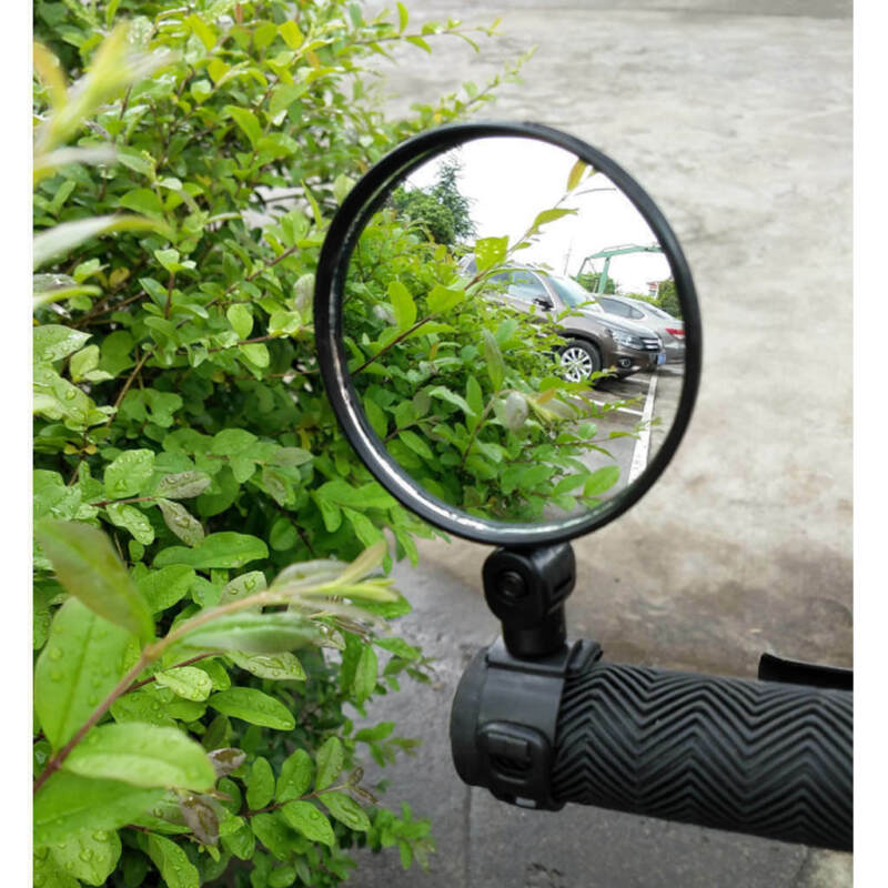 Cycling Bike Bicycle Handlebar Flexible Safe 360° Rearview Rear View Mirrors NEW 2
