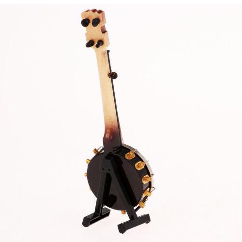 1/6 Soldier Scenario Accessories Decorations Metal Instruments Banjo Toys 8