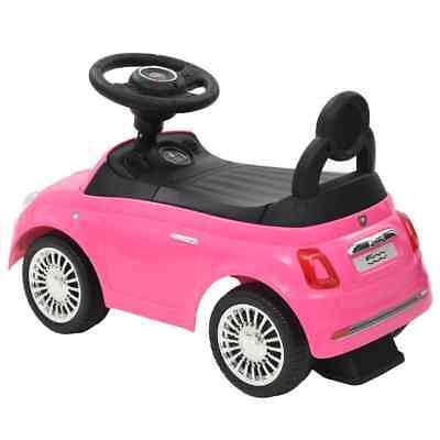 vidaXL Coche Correpasillos para Niño Fiat 500 Carrito Juguete Diversos Colores 10