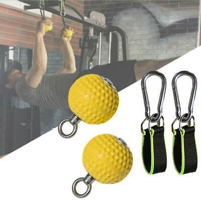 Rutschfeste PU Pull Up Balls Finger Unterarm Bizeps Rücken Muskeln Trainer