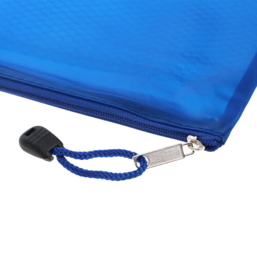 File Folder Lovely Document Bag A5 Zipper File Pocket Storage Organizer Office School Waterproof Filing Products
