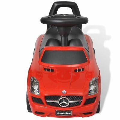 vidaXL Coche Correpasillos de Niños Mercedes Benz Rojo Coche Infantil Juguete 2