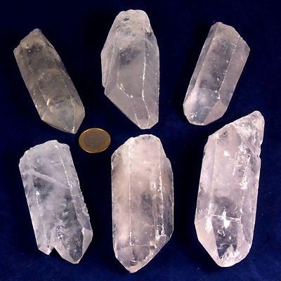 2 kg große XXL Bergkristallspitzen Bergkristall Spitzen wie gefunden - Natur pur