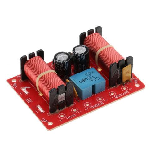 Premium 2 Stück 3 Wege Lautsprecher Frequenzweichen Audio Filter Frequenzteiler