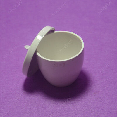 Crucible,Lab Porcelain Crucible 50ML,1PC 4