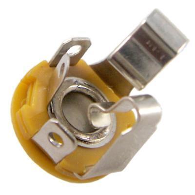 "2 Stücke E gitarre Buchse 6,35mm 1//4 /""Stereo Ausgang Jack Open Circuit"