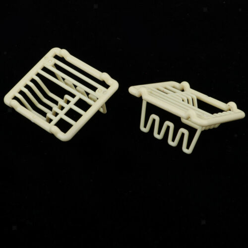 1/12 Dollhouse Miniature Dish Rack Holder Kitchen Tableware Room Accessory 5