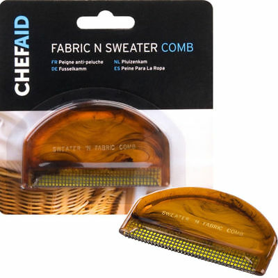 Sweater & Fabric Comb - Clothing Jumper Clothes Lint Fluff Removal Remover Brush 2