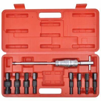 vidaXL Set 9 pz strumenti estrattori cuscinetti foro cieco base interno esterno 2
