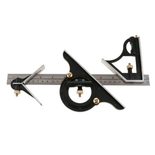 Protractor Right Angle Finder Spirit Level Set Measuring Tools 2